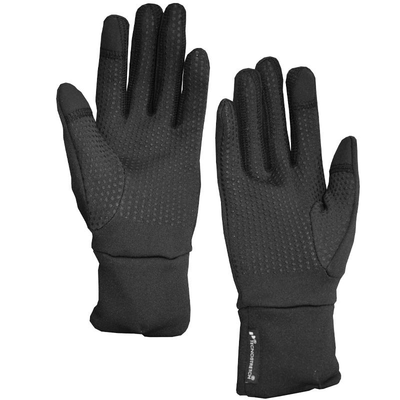 Unisex Elastische Pontetorto-Fleece Handschuhe 442.705